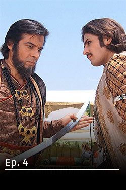 Jodha Akbar: Romance real Ep 4