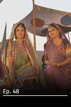Jodha Akbar: Romance real Ep 48