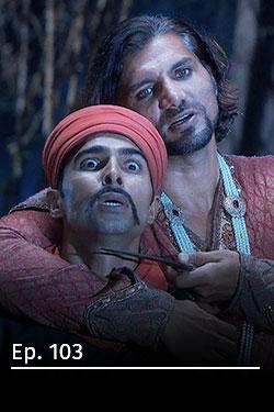Jodha Akbar: romance real T3 Ep 7