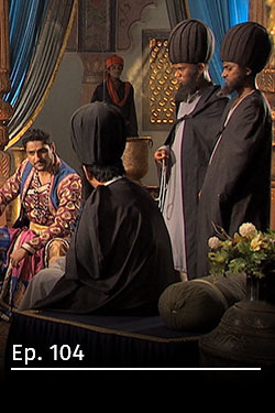 Jodha Akbar: romance real T3 Ep 8