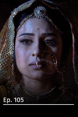 Jodha Akbar: romance real T3 Ep 105