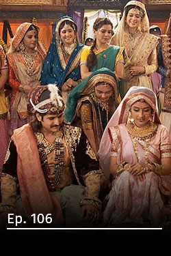 Jodha Akbar: romance real T3 Ep 106