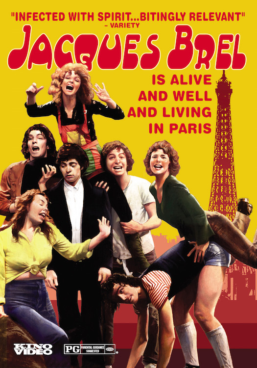 Jacques Brel is Alive and Well and Living in Paris - New HD Transfer