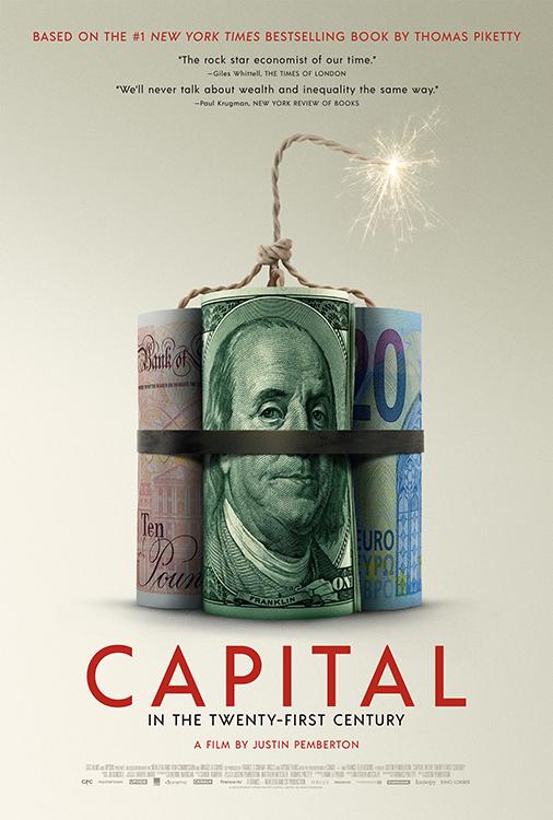 Capital in the Twenty First Century (No Kanopy)